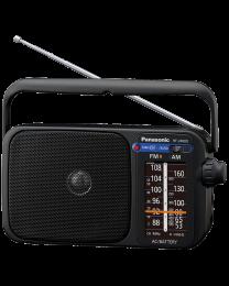 Panasonic RF-2400DEG-K Tranzistor sa zvučnikom od 10 cm, podrškom za FM/AM frekvenicije, jednostavan i lak za upotrebu. Uživajte uz zvuke omiljene stanice.