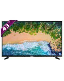 Samsung UE43NU7022KXXH 4K UHD Televizor sa ekranom od 43 inča da uživate u filmovima, fotografijama ili muzici sa extrenog HHD-a ili USB.
