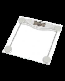 Sencor SBS 113SL Telesna vaga sa velikim LCD ekranom sa funkcijom automatskog merenje čim se stane na vagu i isključivanja, meri do  težine do 150kg.