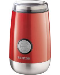 Sencor SCG 2050RD Mlin za kafu snage 150W sa bezbednosnim mehanizmom koji sprečava rad kada mlin nije zatvoren. Za sveže mlevenu kafu i miris koji osvaja.