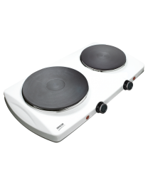 Sencor SCP 2253WH Električni rešo sa 2 ringle precnika 18 cm i 15 cm i termostatom za stalnu regulaciju temperature.