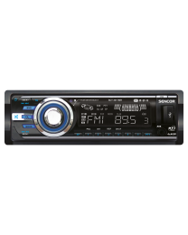 Sencor SCT 3017MR Auto radio snage 4 x 40 W,MP3/WMA plejer za ulazom za USB/SD/MMC i memorijsku karticu i prednjim panelom koji  se može potpuno skinuti.