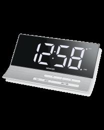 Sencor SDC 5100 Digitalni alarm sat  sa USB punjačem, velikim ekranom dijagonale 5,1 inča (13cm) i funkcijom za dva alarma,  pogodan za radnu površinu.