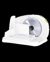 Sencor SFS 1001GR Mesoreznica sa diskom za sečenje koji se skida (prečnika 190 mm) od nerđajućeg čelika i brojčanikom za sečenje u različitim širinama.