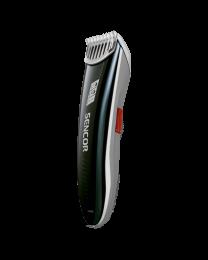 Sencor SHP 4302RD Trimer za kosu sa sečivom od nerđajućeg čelika i tasterom za regulisanje dužine dlake 1-8 mm. Idealna za putovanja.