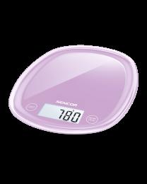 Sencor SKS 35VT Kuhinjska vaga sa senzorima osetljivim na dodir velikim LCD ekranom i funkcijom za poništavanje težine posude u kojoj se meri.