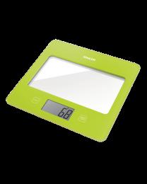 Sencor SKS 5021GR Kuhinjska vaga sa senzorima osetljivim na dodir velikim LCD ekranom i funkcijom za poništavanje težine posude u kojoj se meri.