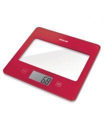 Sencor SKS 5024RD Kuhinjska vaga sa senzorima osetljivim na dodir velikim LCD ekranom i funkcijom za poništavanje težine posude u kojoj se meri.