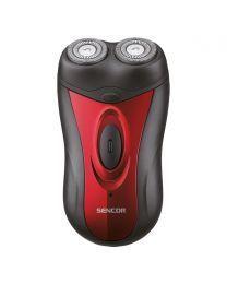 Sencor SMS 2002RD Električni brijač sa ugrađenom punjivom baterijom i dve fleksibilne i nezavisne glave za brijanje za glatku bradu.