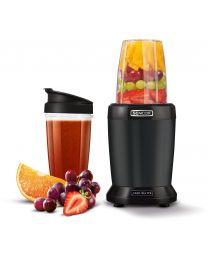 Sencor SNB 4303BK Nutri Blender izdvaja teško dostupne hranljive materije skrivene u semenkama, žitaricama, orašastim plodovima, usitnjava voće i povrće.