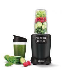 Sencor SNB 6600BK Nutri Blender izdvaja teško dostupne hranljive materije skrivene u semenkama, žitaricama, orašastim plodovima, usitnjava voće i povrće.