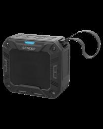 Sencor SSS 1050 Bluetooth portabl zvučnik, vodootporan, sa kojim možete uživati u svojoj omiljenoj muzici sa telefona ili tableta pomoću Bluetooth pristupa.