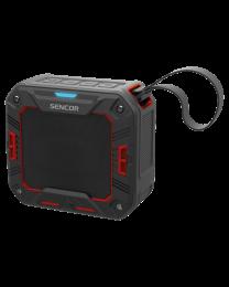 Sencor SSS 1050 Bluetooth portabl zvučnik crveni, vodootporan, sa kojim možete uživati u svojoj omiljenoj muzici sa telefona ili tableta pomoću Bluetooth pristupa.