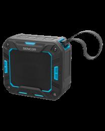 Sencor SSS 1050 Bluetooth portabl zvučnik plavi, sa kojim možete uživati u svojoj omiljenoj muzici sa telefona ili tableta pomoću Bluetooth pristupa.