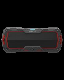 Sencor SSS 1100 Bluetooth portabl zvučnik crveni, sa kojim možete uživati u svojoj omiljenoj muzici sa telefona ili tableta pomoću Bluetooth pristupa.