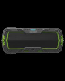 Sencor SSS 1100 Bluetooth portabl zvučnik zeleni, sa kojim možete uživati u svojoj omiljenoj muzici sa telefona ili tableta pomoću Bluetooth pristupa.