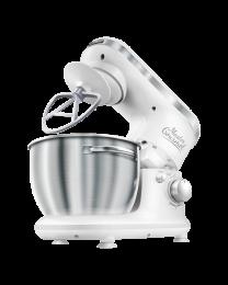 Sencor STM 3620WH Robot mikser za pripremanje testa, kremastih smeša sa posudom od nerđajućeg čelika zapremine 4l, savršeno se uklapa u enterijer kuhinje.