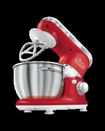 Sencor STM 3624RD Robot mikser za pripremanje testa, kremastih smeša sa posudom od nerđajućeg čelika zapremine 4l, savršeno se uklapa u enterijer kuhinje.