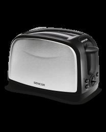 Sencor STS 2651 toster sa elektronskim tajmerom, 2 proreza za istovremeno pečenje 2 tosta, pogodan za pečenje i tankih i debelih parčića