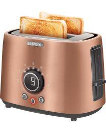 Sencor STS 6056GD Toster snage 1000W sa 2 proreza za istovremeno pečenje 2 tosta, prikladan za pripremu debelog i tankog pečenog hleba...