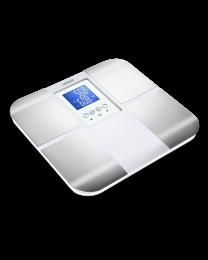 Sencor SBS 6015WH fitnes telesna vaga za procentualno merenje masnoće, vode, mišića i kostiju koja funkcioniše i kao obična telesna vaga