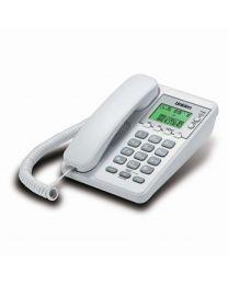 Uniden AS6404W Žični telefon sa identifikacijom poziva, redila i flash funcijama. lako se koristi i ne zauzima puno prostora.