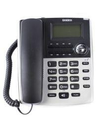 Uniden AS7401S Žični telefon sa identifkaciojom poziva, redial i flash funkcijama, praktičan, lako se koristi i ne zauzima puno prostora.