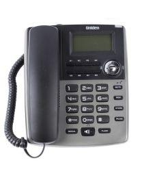 Uniden AS7401T Žični telefon sa identifkaciojom poziva, redial i flash funkcijama, praktičan, lako se koristi i ne zauzima puno prostora.