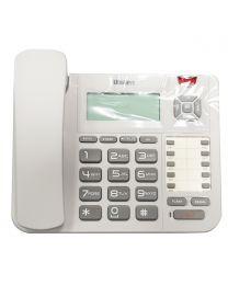 Uniden CE8402W Žični Telefon sa velikim LCD alfanumeričkim displejom i velikim tasterima za lakse biranje brojeva, pogodan za dom, kancelariju i sl.